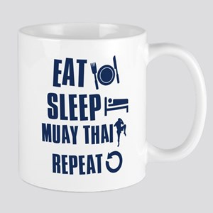 Eat Sleep Muay Thai Mug